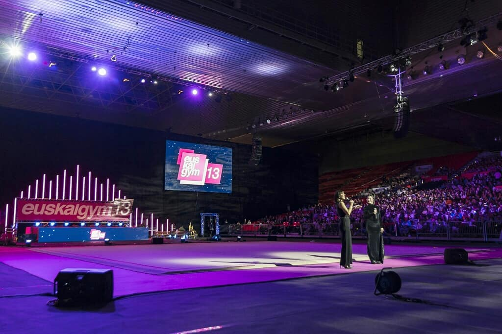 The 13th Euskalgym rhythmic gymnastics gala took place on November 24 at the Bizkaia Arena Bec in Bilbao; Trm Soluciones Técnicas Creativas built a sound system featuring TW AUDiO VERA36.   #proaudio #Euskalgym #TWAUDiO  http://ow.ly/tXhc30mYBTc