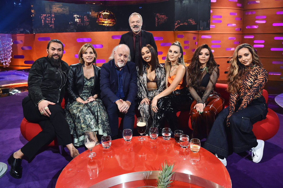 We're gonna be performing on @TheGNShow tomorrow ♥️  Tune in from 10:35PM GMT to hear us perform a song we love from #LM5, #ThinkAboutUs.  the girls x