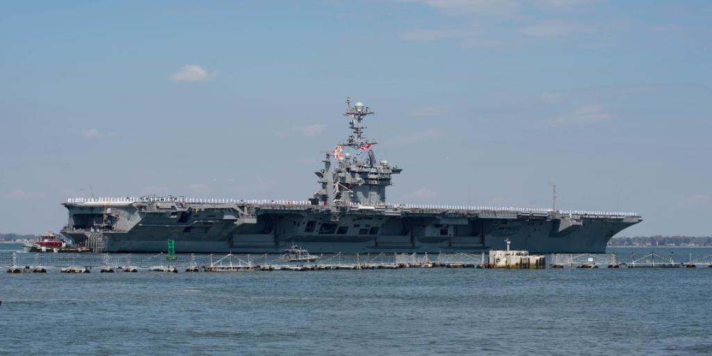 #TBT to April 11, 2018: @USSHarrySTruman Carrier Strike Group deployed from Norfolk. Since then, it has supported maritime security operations & operated in international waters across the globe. On this Sunday, its nearly 6,500 Sailors will return home - navy.mil/submit/display…