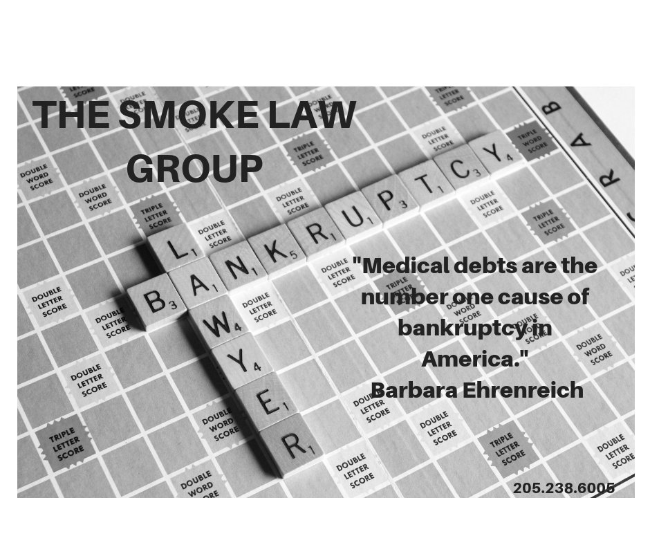 Need help deciding whether or not bankruptcy is the right option for you? Call THE SMOKE LAW GROUP at (205) 238-6005 for a free consultation. #thesmokelawgroup  #finances  #credithelp  #lifeafterdebt  #needalawyer  #cleanupyourcredit  #credit  #bankruptcy