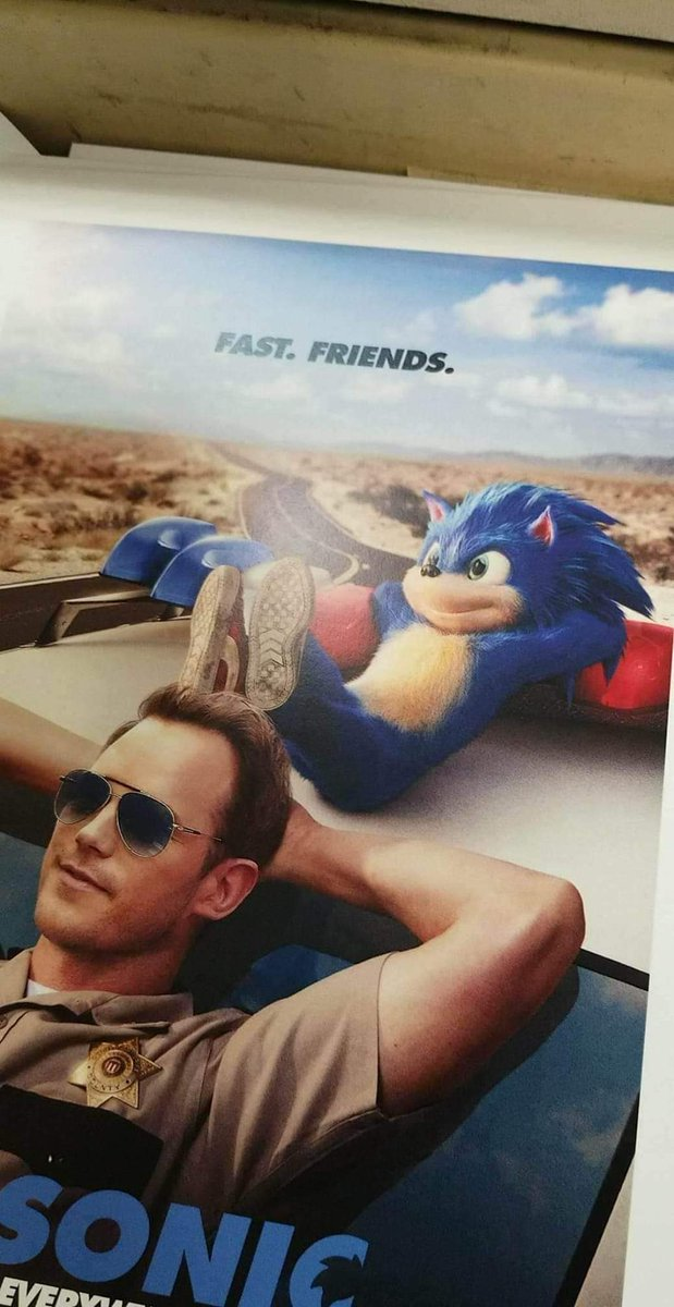 Possible Leaked Sonic The Hedgehog Poster Reveals The Video Game Character S Live Action Appearance
