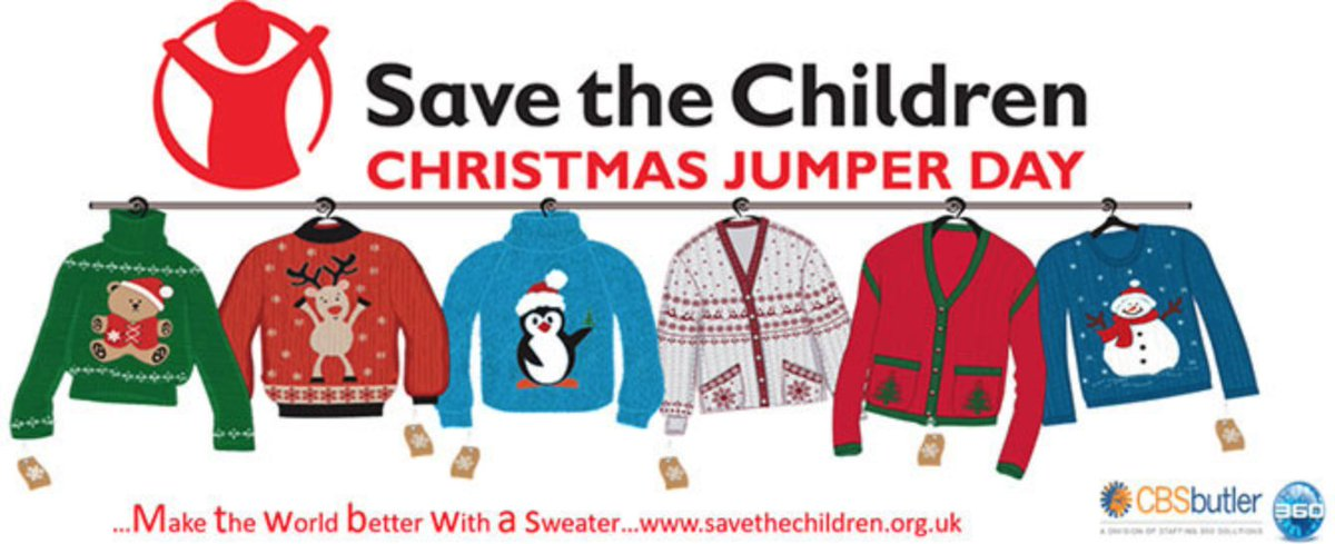We're proudly taking part in the 2018 Christmas Jumper Day in aid of Save The Children.  If you're taking part, we want to hear from you.  Tag your fun pics for prizes! #panoramicdoorsuk #alumen #welglaze #savethechildren #uglyjumperday2018 #christmastime #charitywork #charityaid https://t.co/hQqNcgG3j7