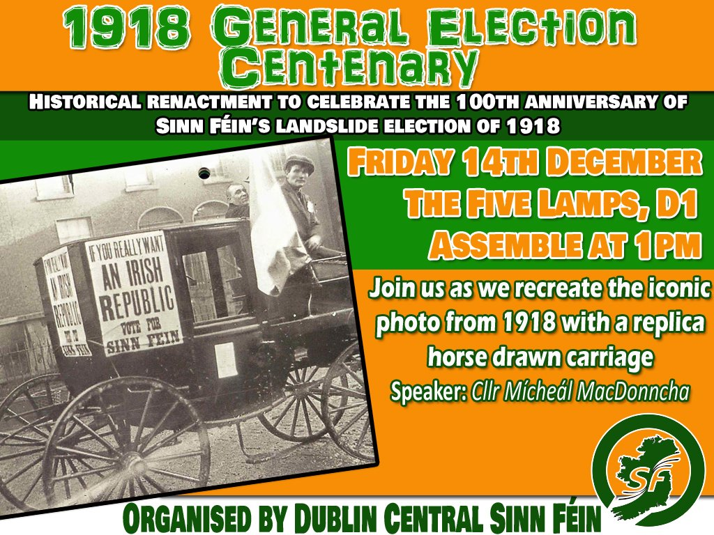 Dubcentral Sinn Fein On Twitter Join Us On Friday To Mark The