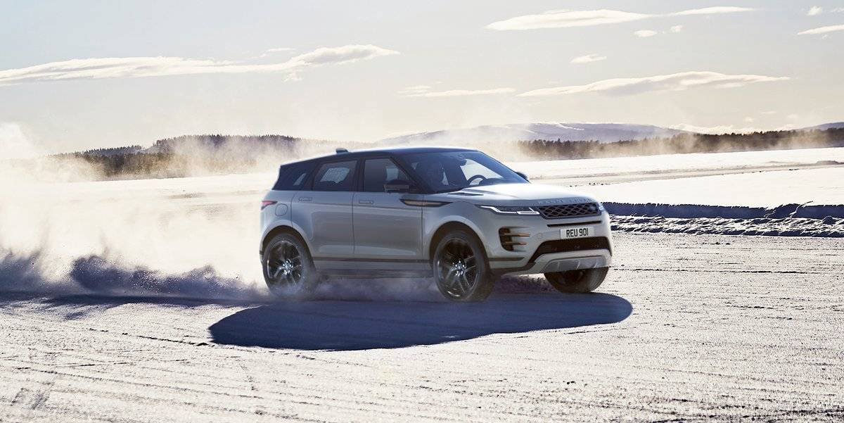 With Terrain Response 2 To Automatically Select The Perfect Driving Mode For Any Conditions New Rangerover Evoque Is Ready Anything