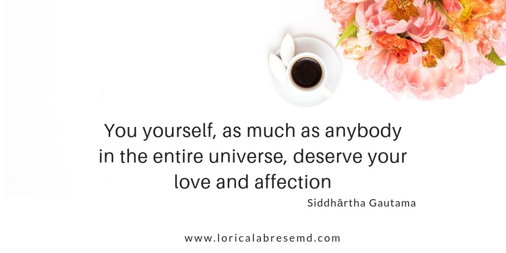 you are worthy of love and affection