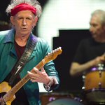 Keith Richards Twitter Photo