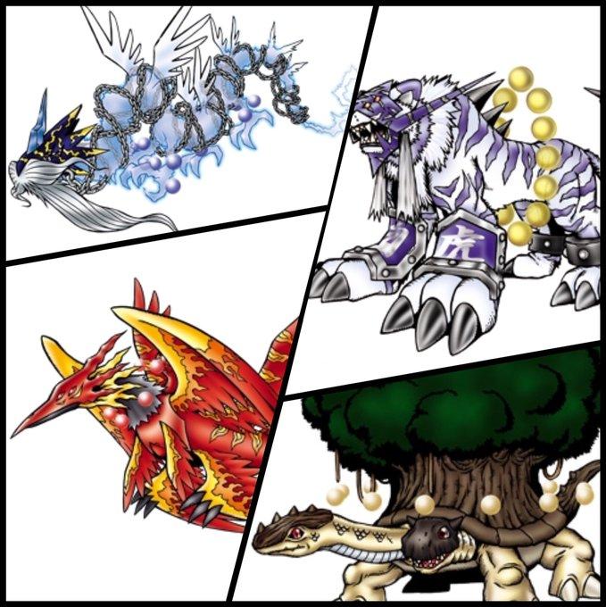 四聖獣のtwitterイラスト検索結果古い順