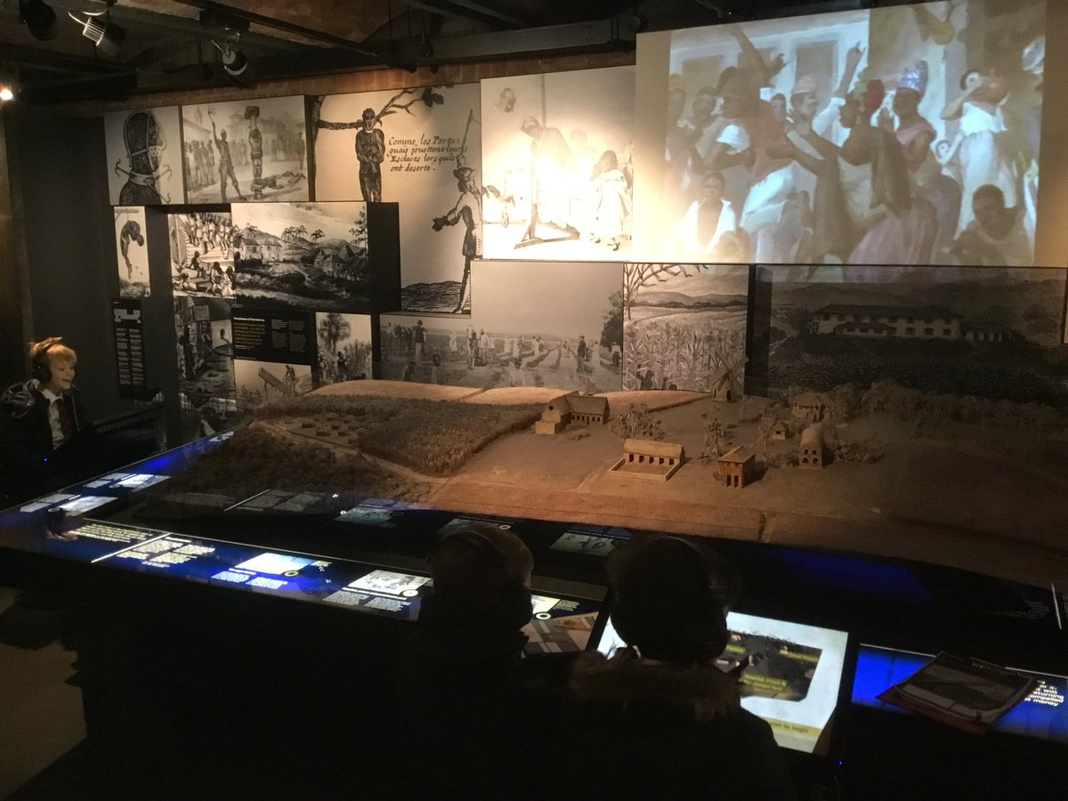 test Twitter Media - The interactive exhibits are teaching us a lot about how the slave trade operated #gorseyhistory #gorseygeography https://t.co/vrWcl5urC7