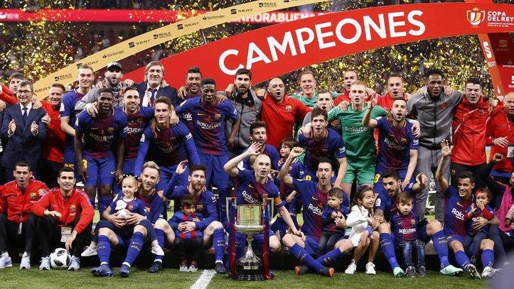 Copa del Rey Last 16 draw: @FCBarcelona vs @LevanteUD ... Four-time defending champions Barcelona will face Levante #CopaBarça