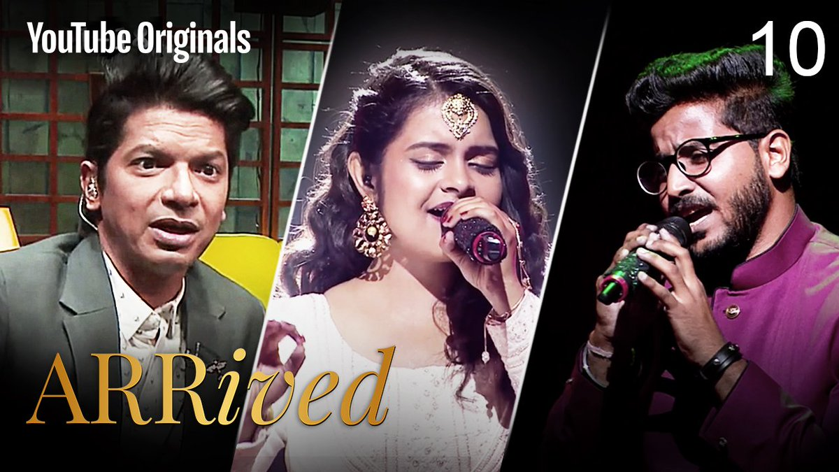 Witness an abundance of soulful performances in this episode of #ARRivedSeries  If you're in India: https://t.co/4wugJfSd5G If you're outside India: https://t.co/XKZXAu7VwG  @MyQyuki #YouTubeOriginals