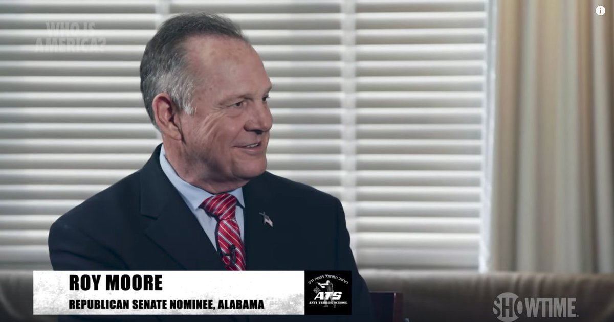 Roy Moore tries to keep $95M lawsuit alive by claiming Showtime committed fraud https://t.co/8W9LqStrAd