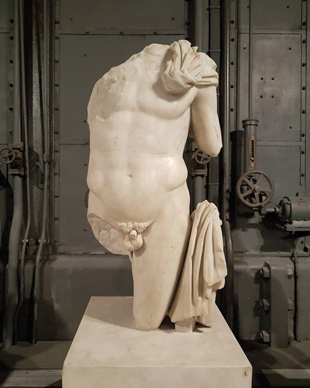 #MaleNude #marble #CentraleMontemartini #Rome #antiquity #PolycletanSchool #Polycletus https://t.co/Qg1O2pAMWI