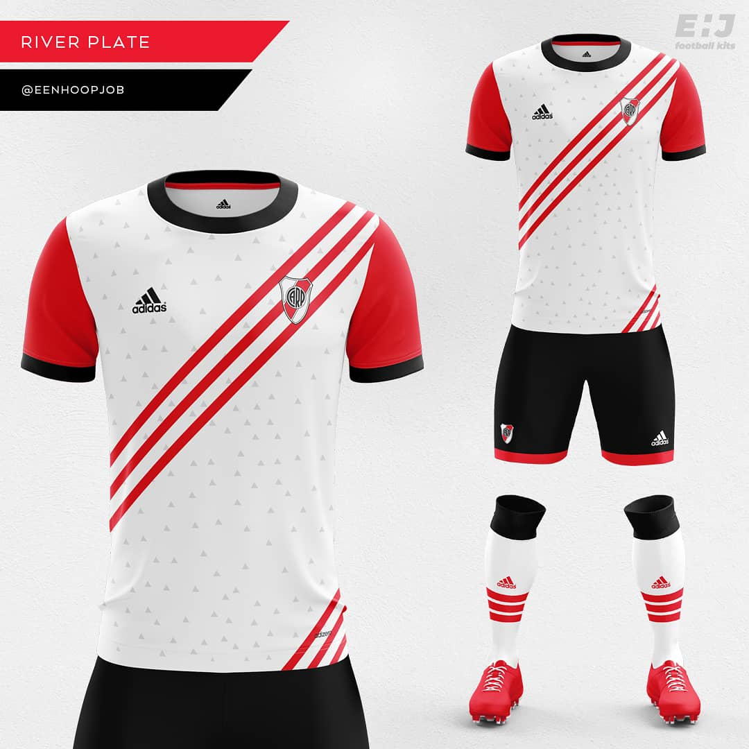 bda1140cb River Plate Home Kit Concept. Please rate 1-10. Thoughts about this design    riverplate  copalibertadores  river  carp  adidas  adidasfootball ...