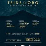 La gala de los #TeidesOroRCT2018 se celebra este viernes desde el Auditorio Adán Martín de Santa Cruz de #Tenerife.
