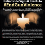 Image for the Tweet beginning: Candlelight Vigil to #EndGunViolence -