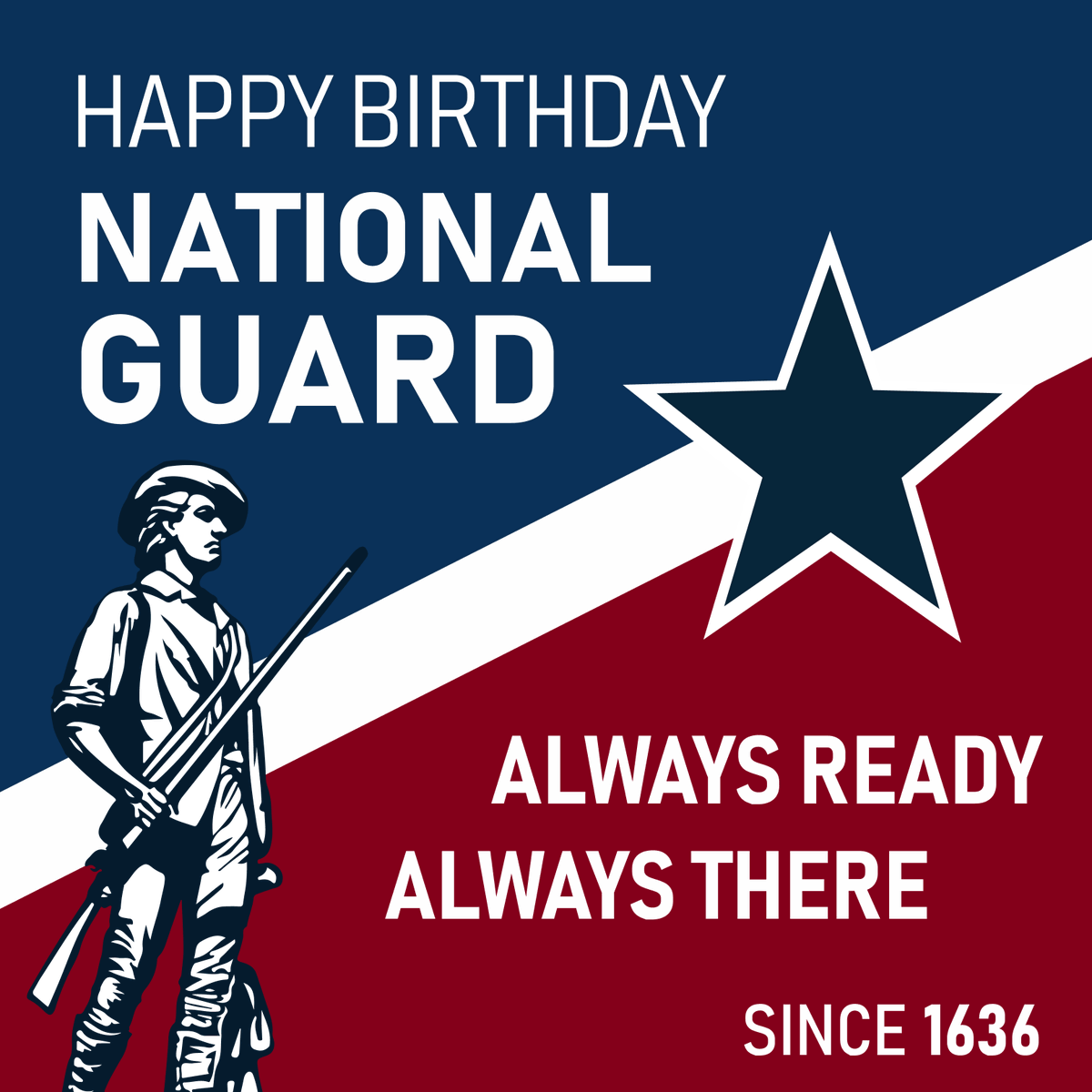 Wishing a very happy 382nd birthday to the @USNationalGuard! #Guard382