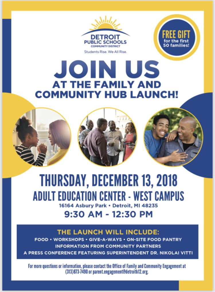 test Twitter Media - Community is essential.  Join us at DPSCD's Family & Community Hub today and learn about organizations in your area ready to serve YOU ✨  #AbayomiCDC #Detroit #DPSCD #Nonprofit https://t.co/IUhGUDoq44