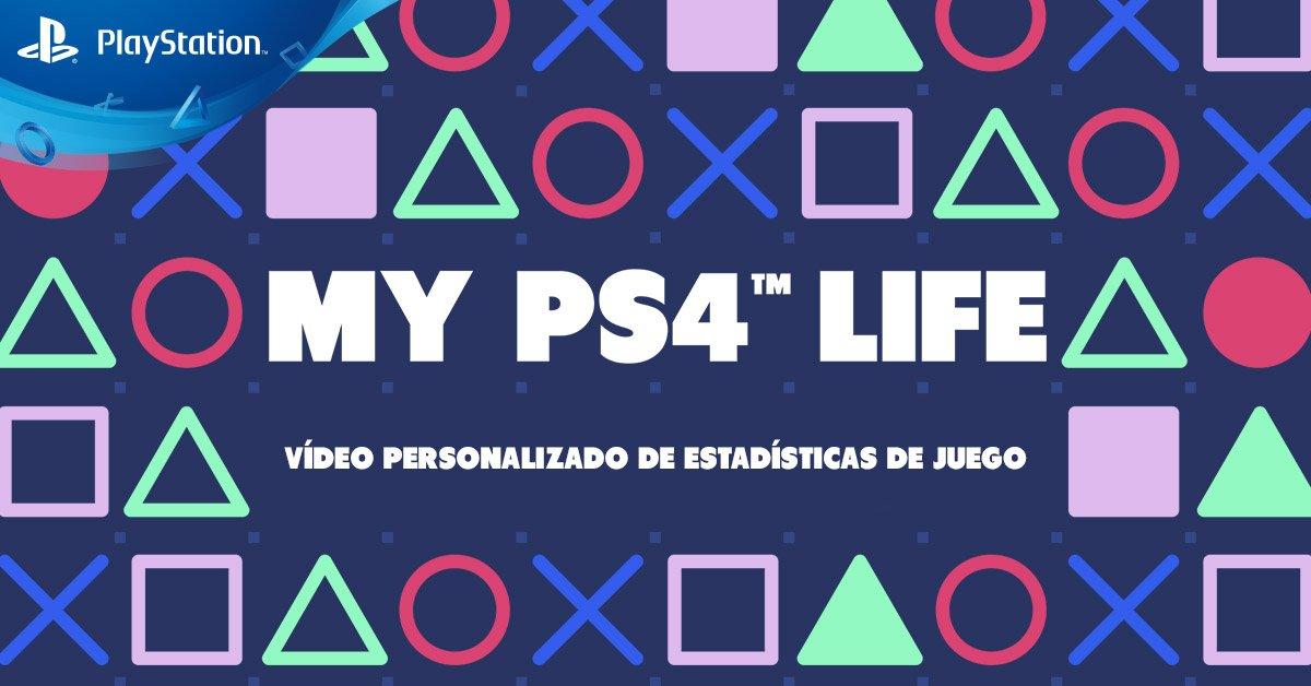 #PS4 eres tú y tus logros… desde los trofeos que has ganado hasta las aventuras vividas. Descubre tus juegos top, tus trofeos más difíciles, tu primera vez en #PS4 y mucho más con #MyPS4Life👉 https://play.st/MyPS4Life