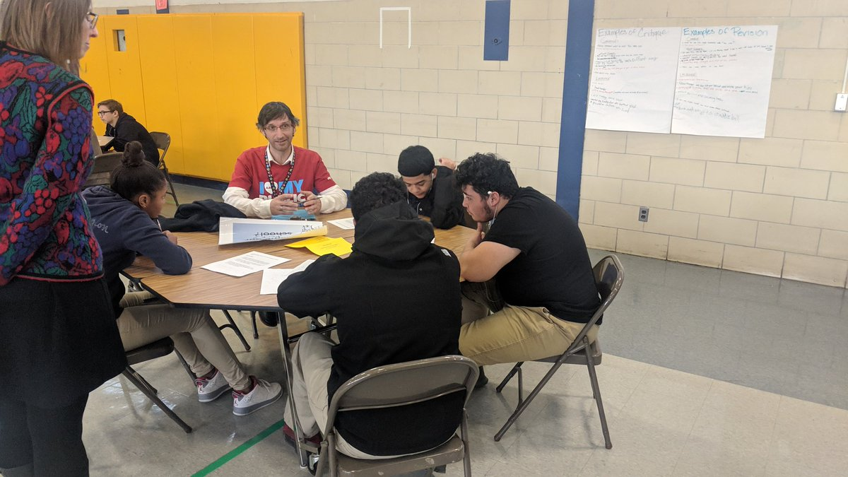 Yesterday President Russell Leone visited Moss Adams as students shared their process on their PBL projects. They have incredible ideas to address social justice through advocating for their community's needs.