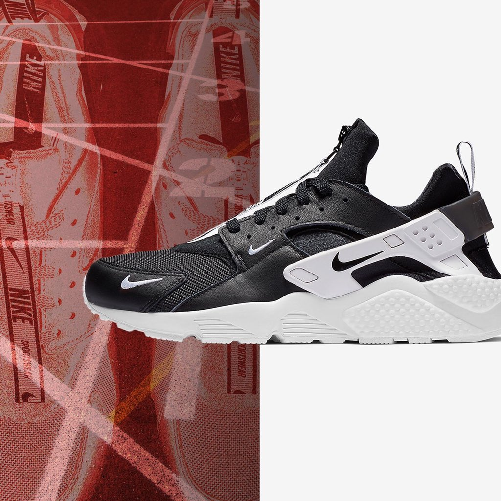 on sale 5851c b1e50 ... for any fit is available at Jimmy Jazz, cop your pair now! http   www. jimmyjazz.com mens footwear nike-air-huarache-run-prm-zip BQ6164-001 color Black  … ...