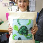 Image for the Tweet beginning: Our final cushions are finished!