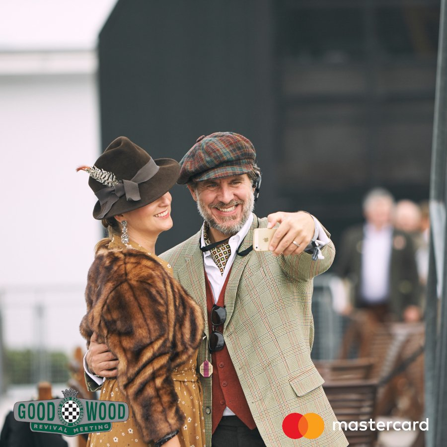 Get ready to experience all the fashion and fun at The Goodwood Revival 2019. Book tickets with your Mastercard for a chance to win an amazing experience. 💃#StartSomethingPriceless  Book now 👉 https://mstr.cd/Revival-2019  18+. Ends 02/06/19. T&Cs http://bit.ly/GWD-MC