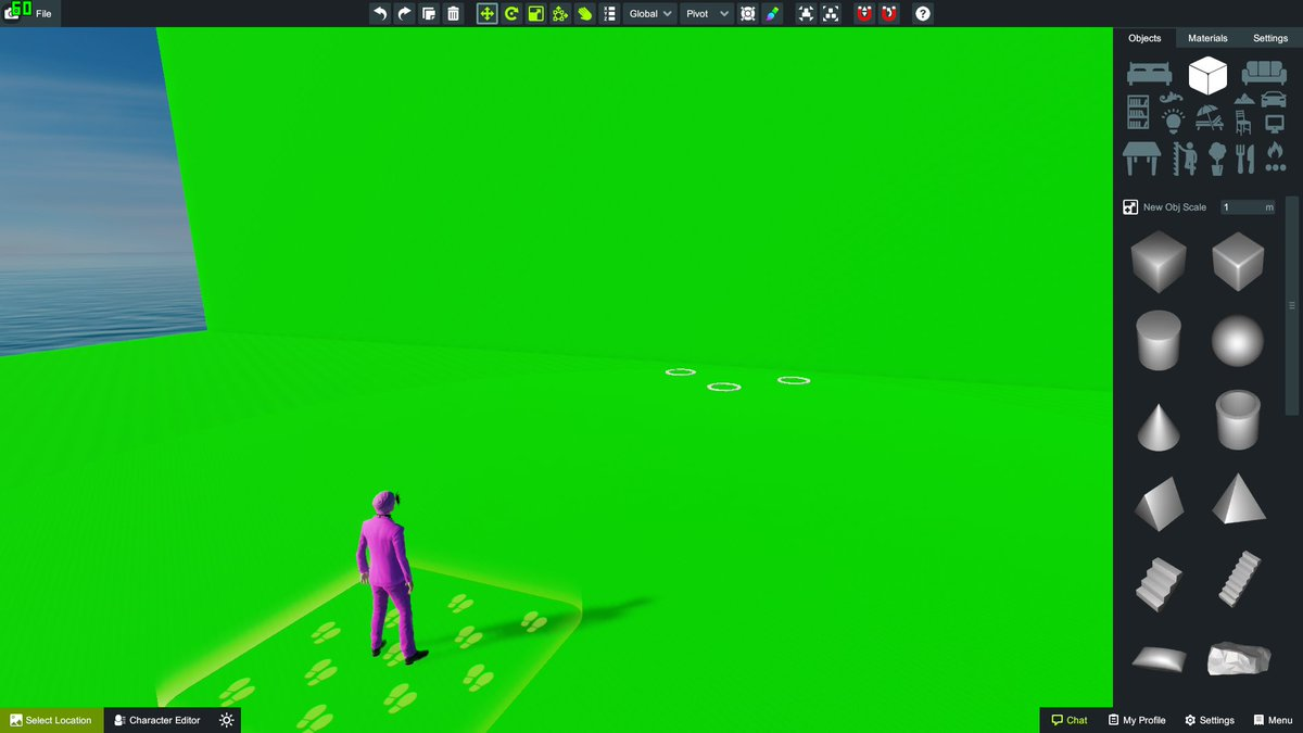 video editor with green screen