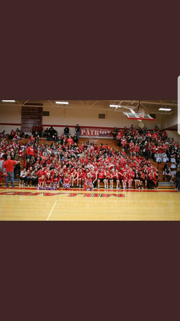 BIG ONE TONIGHT!  Patriot Nation we need you loud!  Support your #1 squad.  I've said it before and I'll say it again Best atmosphere in the state.  Girls are 33-3 at home the last 3 years.  Be DEEP starting at 5:30 Vs OMNW.  Boys to follow RT If you're Coming.  #AKT #32MOH<br>http://pic.twitter.com/8SpPrEh8I4