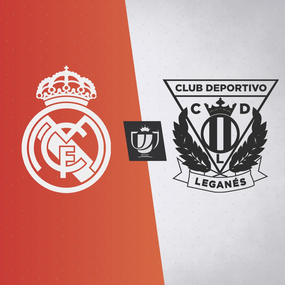 👑⚽🏆 We will face @CDLeganes_en in the last 16 of the Copa del Rey! #RMCopa