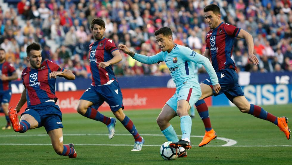 ‼️   OFFICIAL   Barca will face Levante in the Copa del Rey Round of 16. The first leg will be played away and the return at the Camp Nou.
