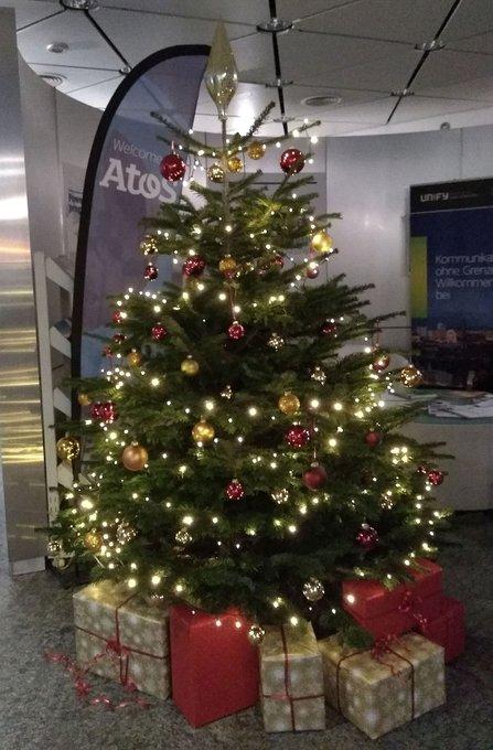 Heute findet die Atos - Weihnachtsfeier an unserem Standort in Wien statt. Wir wünschen...