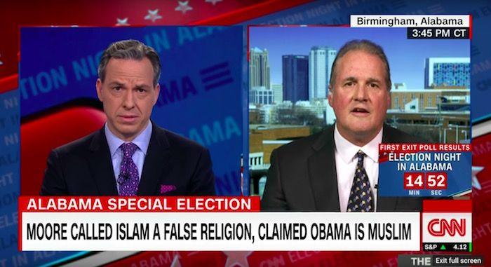 #1yrago Idiot Roy Moore spokesperson left utterly speechless when Jake Tapper teaches him about the Bible in Congress https://t.co/iQJrvhxzPU