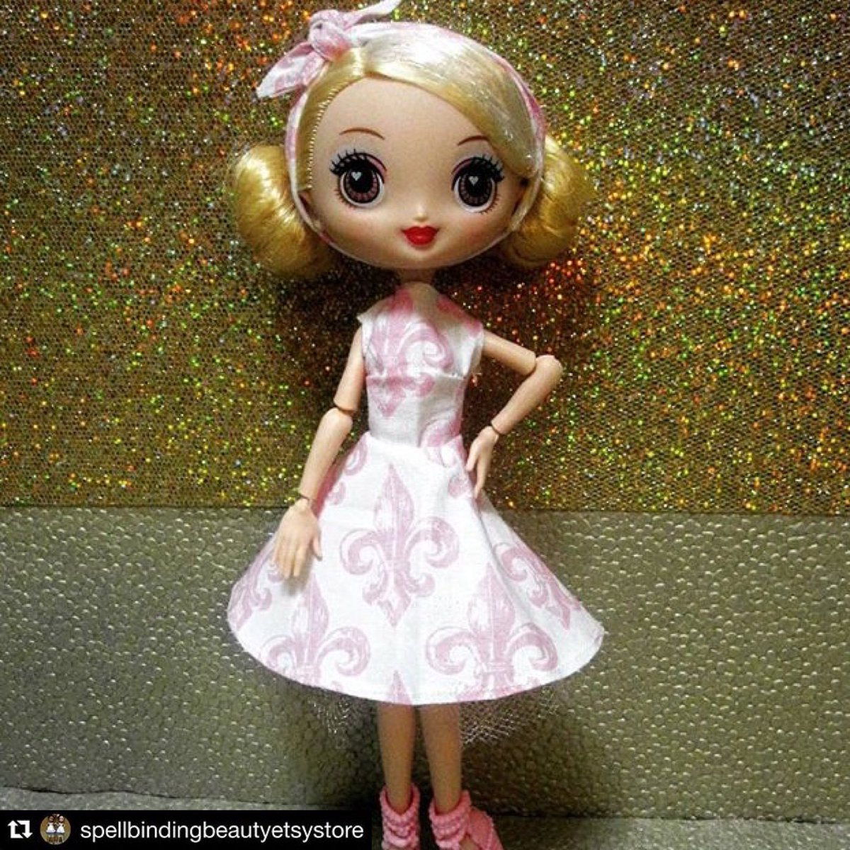 Instagram #Repost @spellbindingbeautyetsystore ・・・ Check us out on #Etsy! Our store link in bio. #KuuKuuHarajuku #G #GDoll #Spellbindingbeautyetsystore #spellbindingbeauty #bjd #bjdclothes #bjdcustomclothes #dollclothesofinstagram #MelyndaKaufman #MelyndaAnnKaufman