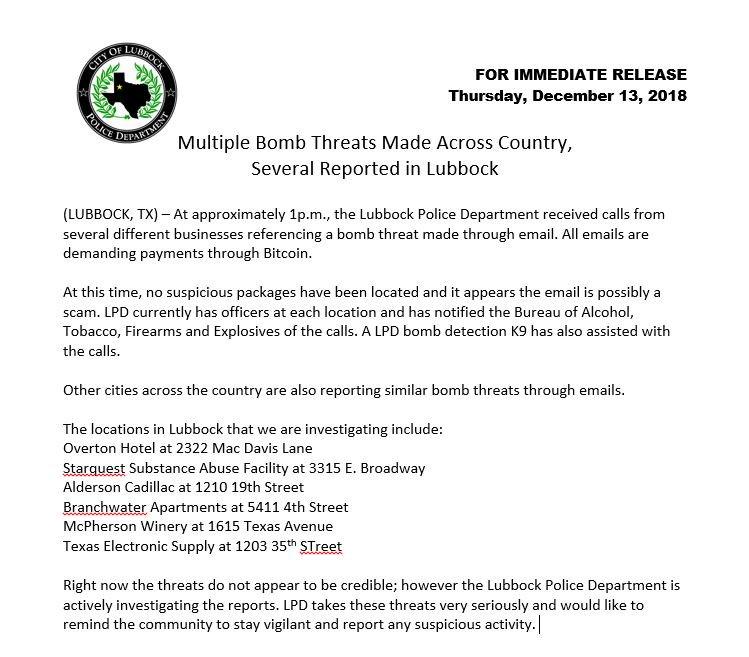 Lubbock Police Dept  on Twitter: