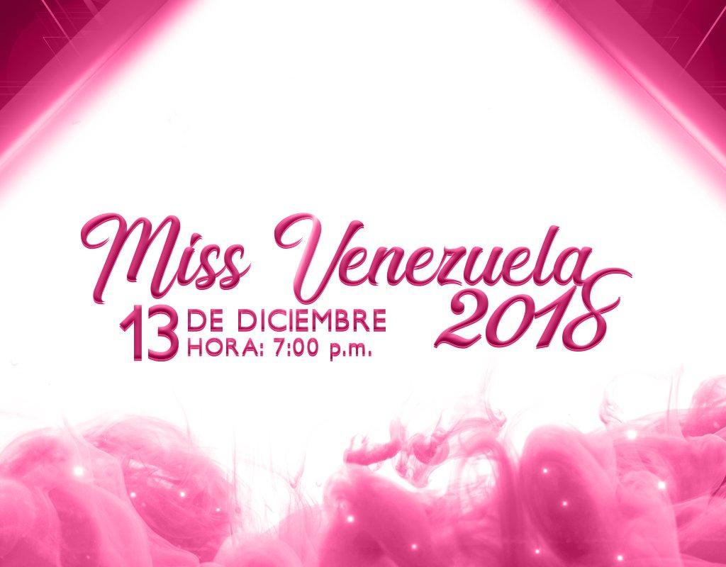 Desde @venevision y https://t.co/MDHFNAiGbs puedes disfrutar del #MissVenezuela2018  en vivo y directo.