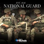 Image for the Tweet beginning: Wishing the @USNationalGuard a happy