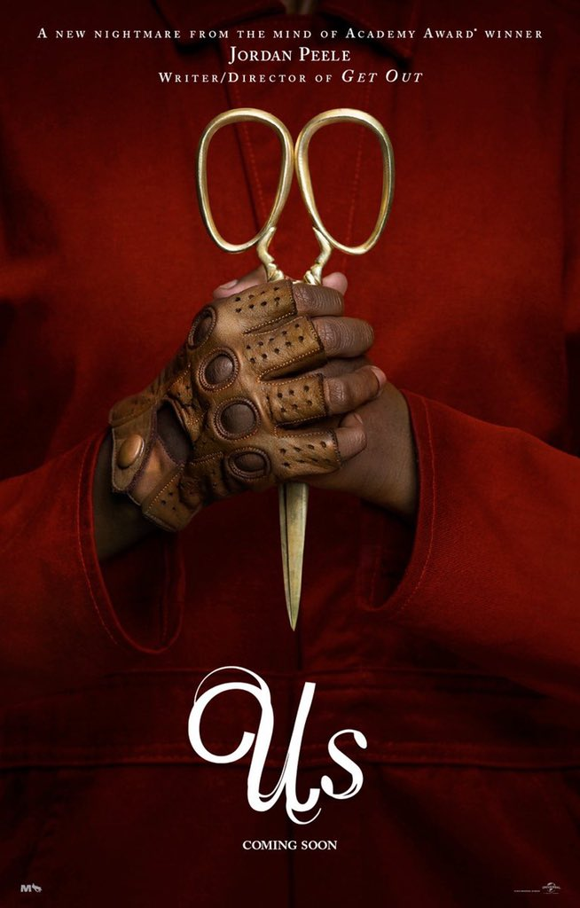 Poster US de Jordan Peele