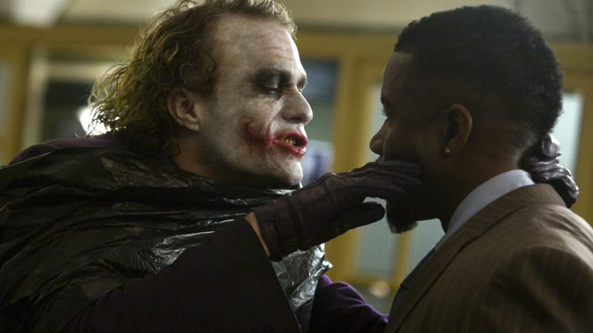 #ThrowbackThursday to when I had the pleasure working with one of the greatest, Heath Ledger! His performance as the Joker is not only legendary, but one of best acting performance to date! #HeathLedger #joker #TheDarkKnight #Movies #Action #Comics #Gambol #Iconic #RIP