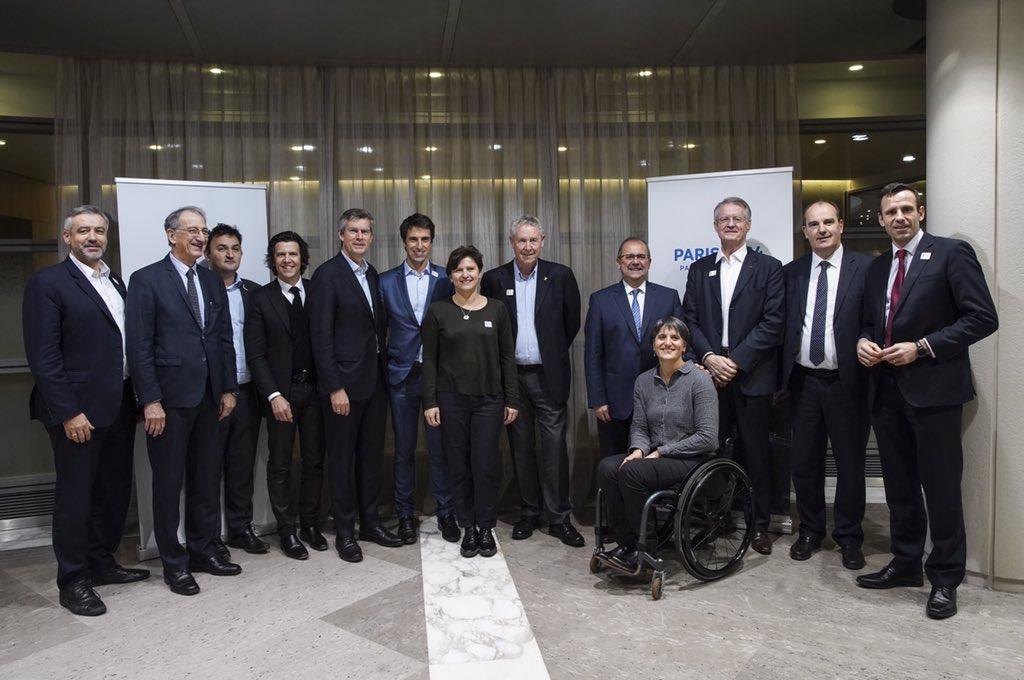 Excellente réunion de travail avec @Paris2024 et les équipes du #CIO pour un point d'étape très positif sur l'avancement du dossier. La France sera au rendez-vous. En route vers #Paris2024