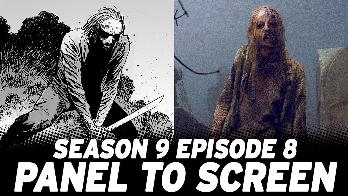 Watch how #TheWalkingDead Mid-Season 9 Finale compared to the comics! bit.ly/908PanelScreen