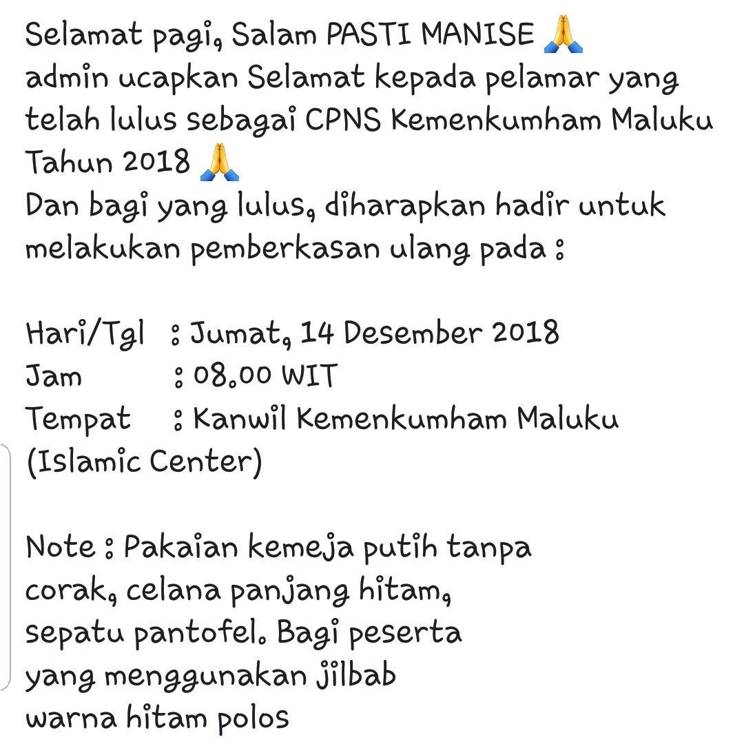 Kota Bandung masih Belum Mendapat Hasil Integrasi Nilai SKD SKB CPNS 2018 dari BKN