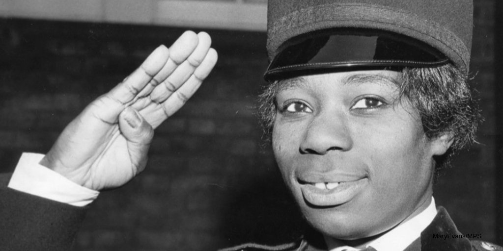 #DidYouKnow Sislin Fay Allen was the first black female officer in the UK? In 1968, whilst working as a nurse, she saw a recruitment ad for male & female officers. Sislin is now known as a forerunner in helping shape the future of policing   #100YearsStrong#ThrowbackThursday