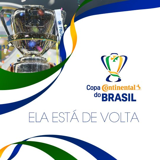 Hoje tem @CopadoBrasil! Calma que, por enquanto, é só sorteio da primeira fase da competição. Vamos conhecer os duelos que abrem a competição às 20h. Fique ligado! ⚽🇧🇷
