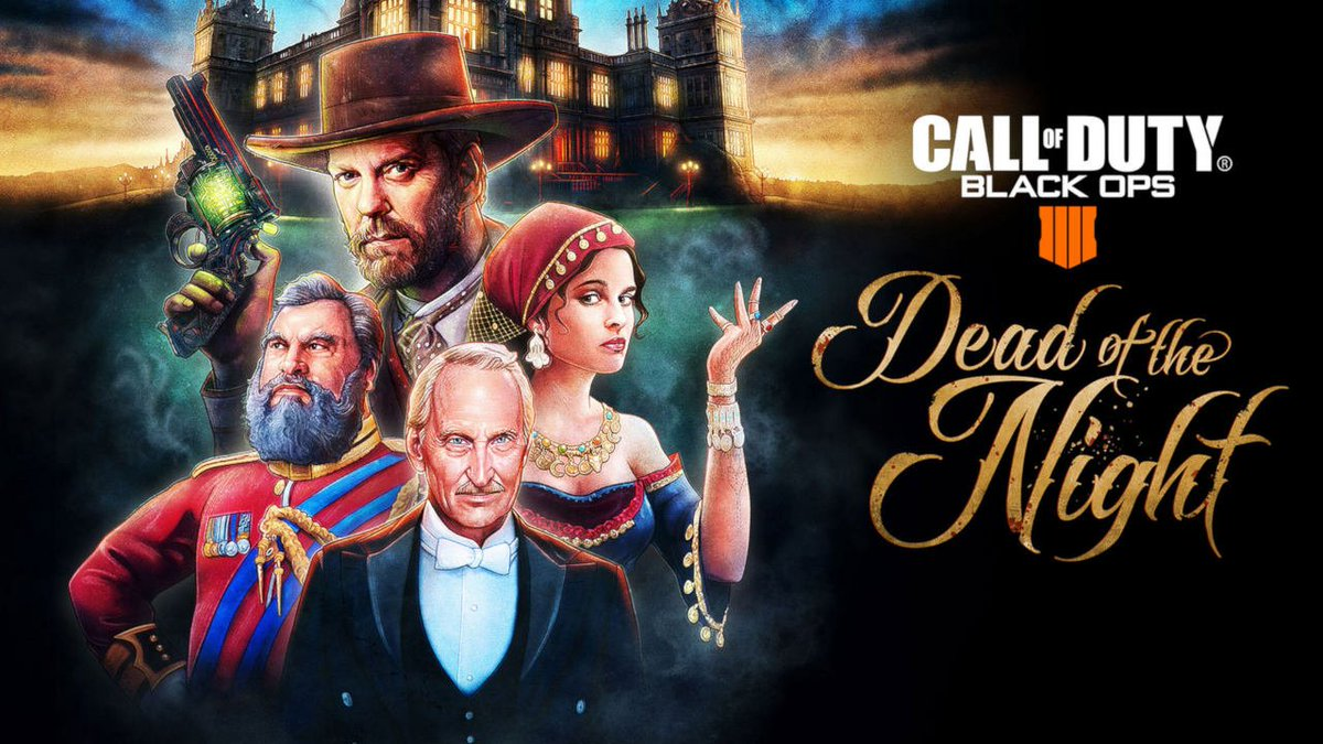 You are cordially invited... to survive! Call of Duty: Black Ops 4's new 'Dead of the Night' Zombies experience is out now: https://t.co/RmaEcZQOKb