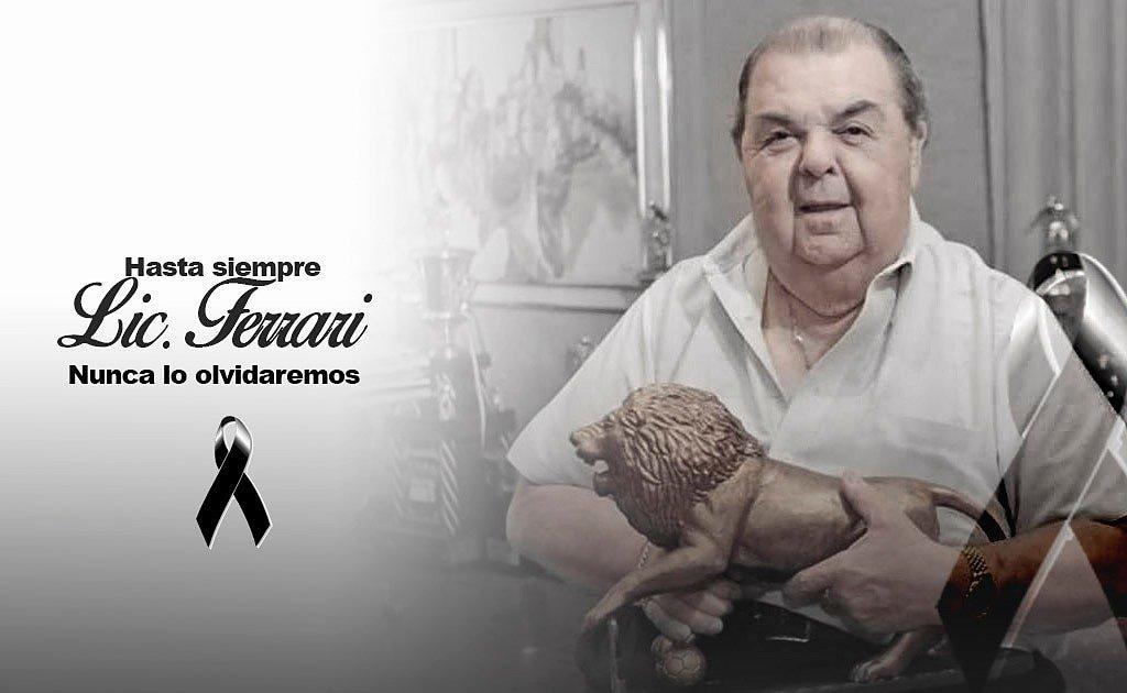 Su corazón solidario, humildad y  liderazgo harán que su rugido no se apagué nunca. ¡Hasta luego Don Rafael!  https://t.co/4pEN4Tcc6Z https://t.co/IZM18kVvt7
