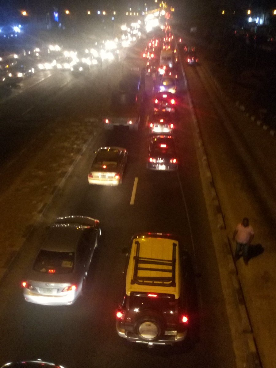 @Mr_Morski: IKORODU RD FADEYI inward MARYLAND very busy #GIDITRAFFIC @Gidi_Traffic