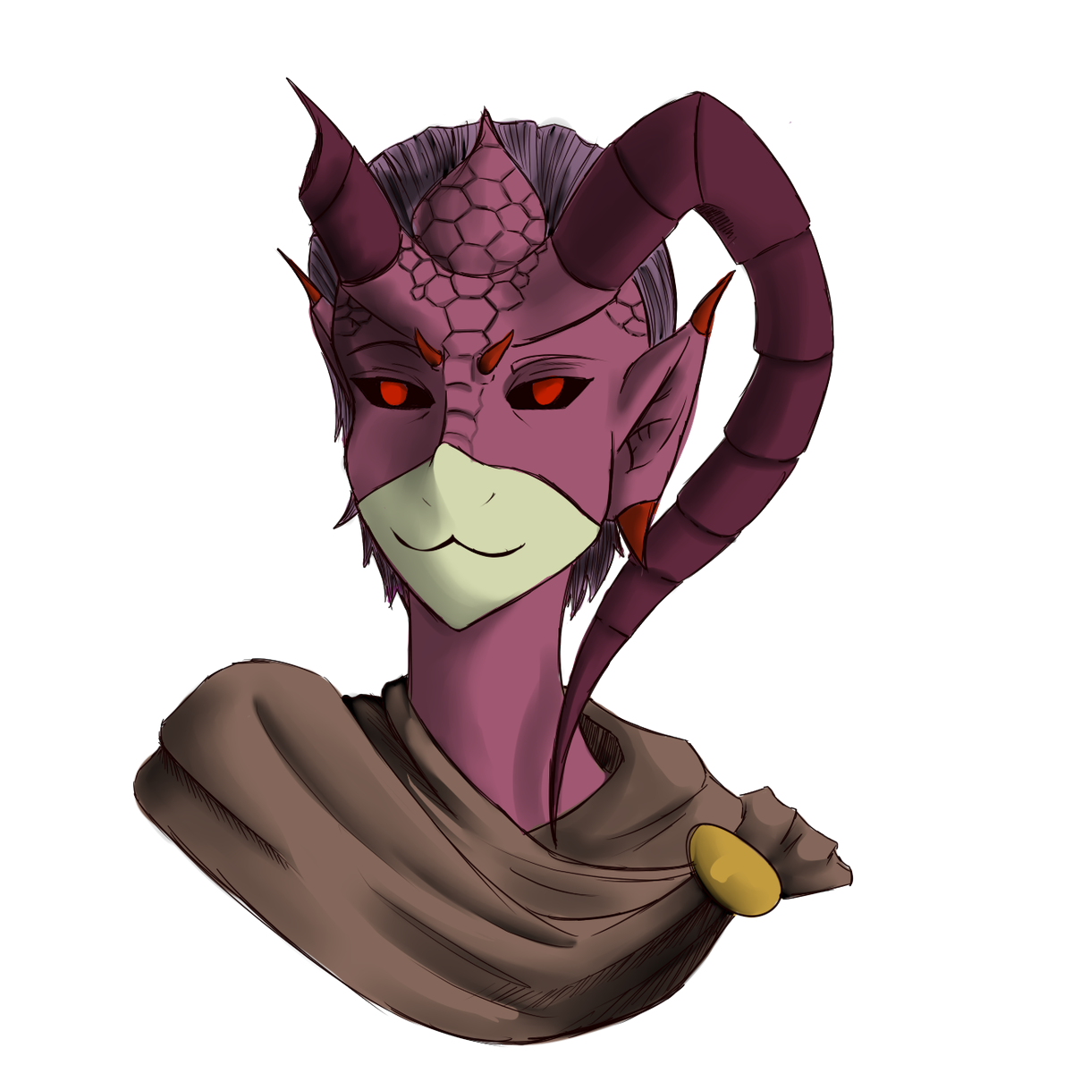 Kaylesjabberwock On Twitter Two Dnd Based Sketch Busts One Of My Orc Borba And Another Of A Tiefling Rouge Maybe Dont Know They Are Just Precious Https T Co Lmh3sbvdlj