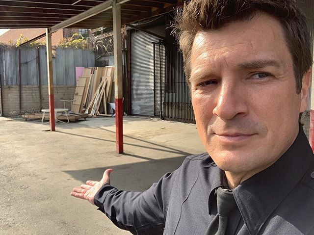 This is the spot I was standing in when I shot my last scene (ever) on Castle. If you haven't seen Castle, that's ok- but it's safe to say I'm probably a pretty big deal to your mom. https://t.co/92nQ4IPtWk