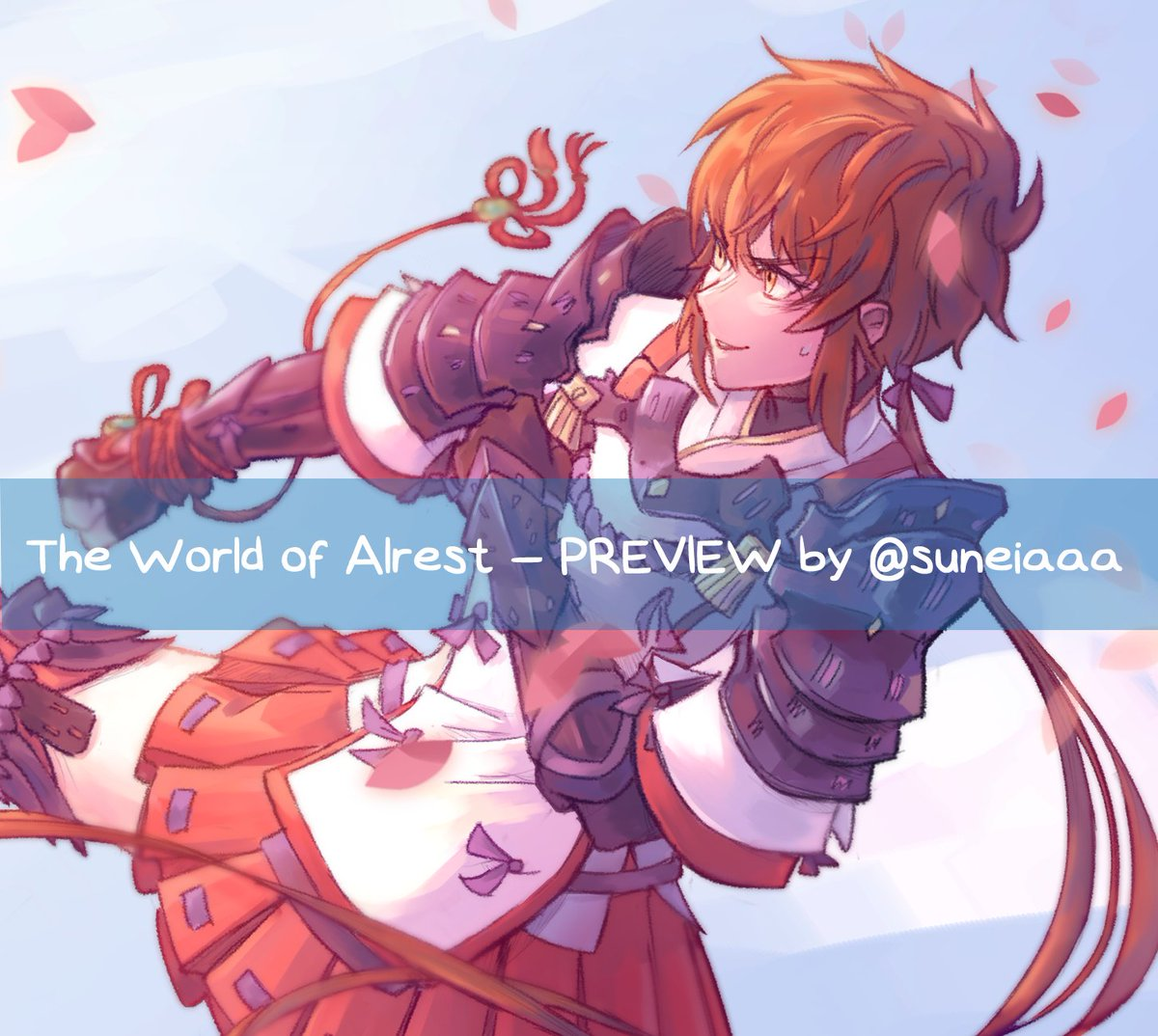 Preview of my Lora piece for #TheWorldOfAlrest , a digital XC2 zine by @Elysian_Artists ! Please look forward to the whole thing, preorders will open soon <br>http://pic.twitter.com/WhUrxsdcC7