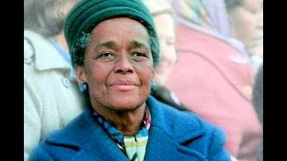 Giving thanks for the brilliant leadership and vision of the great #EllaBaker. Born on this day in 1903 and transitioned on this same day in 1986. #ThursdayMotivation #FreedomFighter